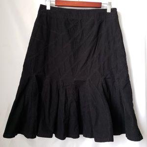 Harold's skirt velvet black size 6